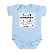 Accounting Teacher Infant Bodysuit