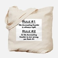 Accounting Teacher Tote Bag