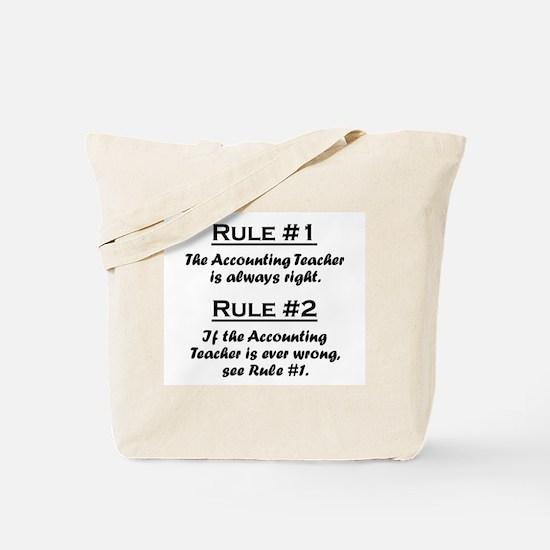 Accounting Teacher Tote Bag