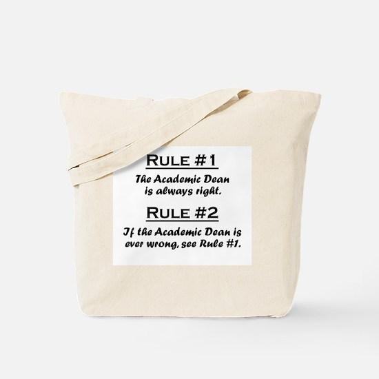 Academic Dean Tote Bag