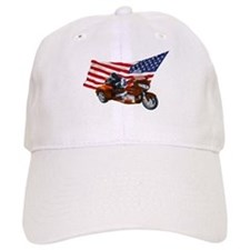 Old Glory Trike Baseball Cap