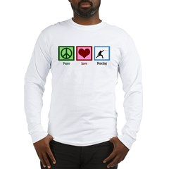 Peace Love Fencing Long Sleeve T-Shirt