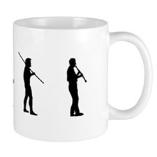 Clarinet Evolution Small Mug