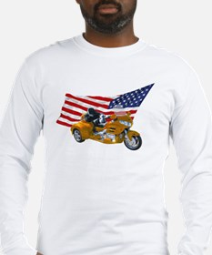 Old Glory Trike Long Sleeve T-Shirt