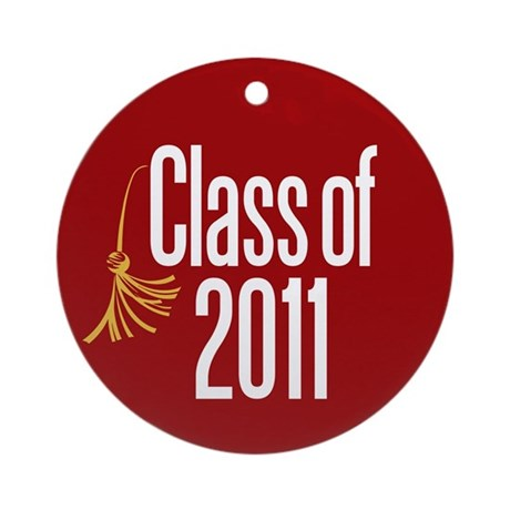 Class of 2011 Ornament (Round)