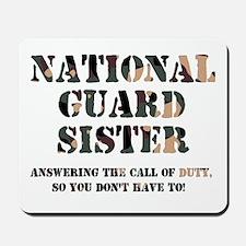 NG Sister Answering the Call Mousepad