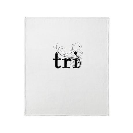 tri Throw Blanket