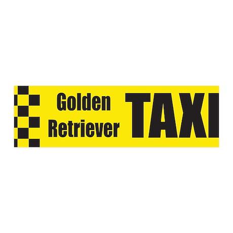 Golden Retriever 36x11 Wall Peel