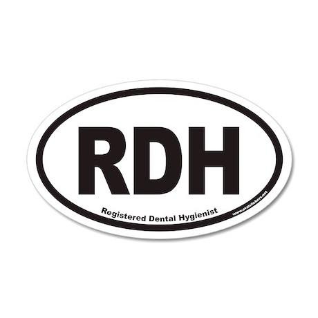 Registered Dental Hygienist RDH Euro Wall Sticker by Admin ...