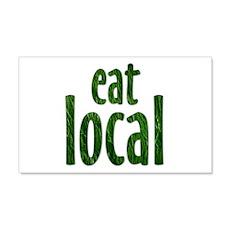 Eat Local - 20x12 Wall Peel
