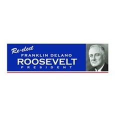 FDR Bumpersticker