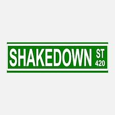 Shakedown Street 36x11 Wall Peel