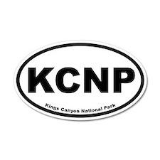 Kings Canyon National Park 20x12 Oval Wall Peel