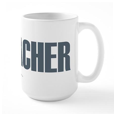 Geocacher Large Mug