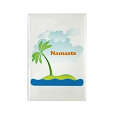 Namaste Rectangle Magnet
