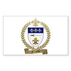 FRENETTE Family Crest Decal