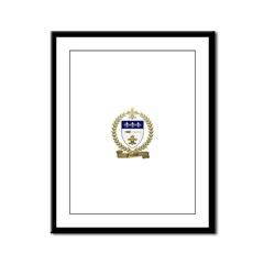 FRENETTE Family Crest Framed Panel Print