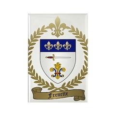 FRENETTE Family Crest Rectangle Magnet