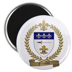 """FRENETTE Family Crest 2.25"""" Magnet (10 pack)"""