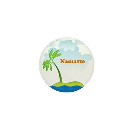 Namaste Mini Button
