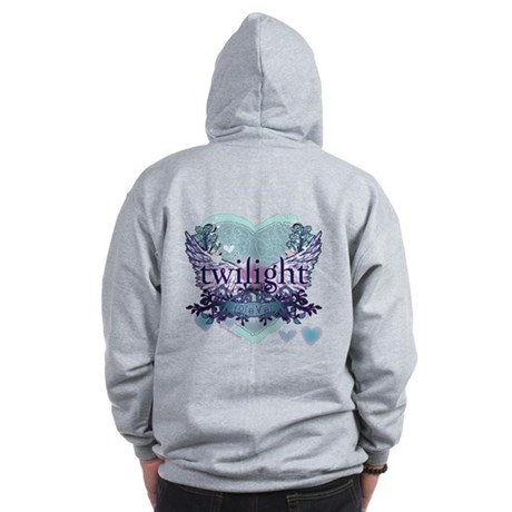 Twilight Forever by Twibaby.com Zip Hoodie