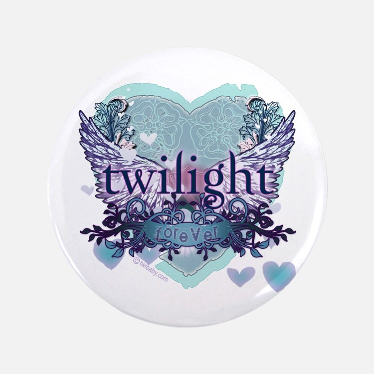 "Twilight Forever by Twibaby.com 3.5"" Button"