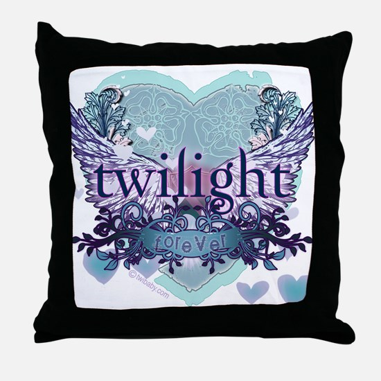 Twilight Forever by Twibaby.com Throw Pillow