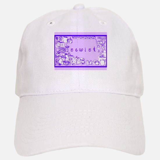 Sewist fabric font sewing border purple wisteria B