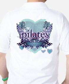 Pilates Forever by Svelte.biz T-Shirt