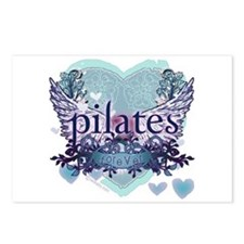 Pilates Forever by Svelte.biz Postcards (Package o