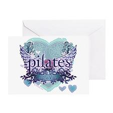 Pilates Forever by Svelte.biz Greeting Card