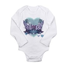 Pilates Forever by Svelte.biz Long Sleeve Infant B