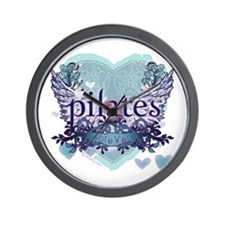 Pilates Forever by Svelte.biz Wall Clock