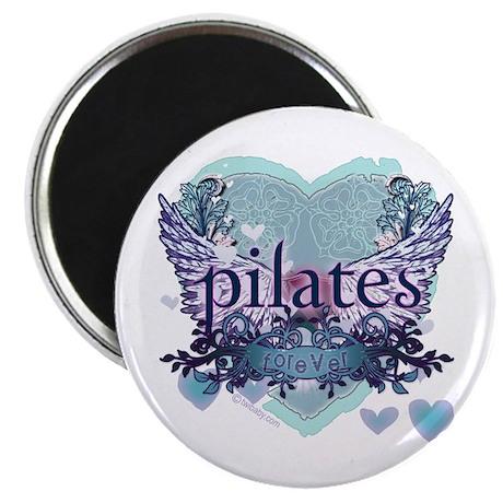 "Pilates Forever by Svelte.biz 2.25"" Magnet (100 pa"