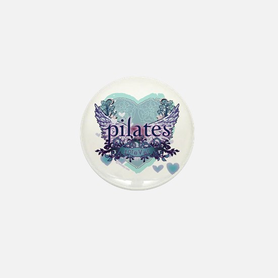 Pilates Forever by Svelte.biz Mini Button