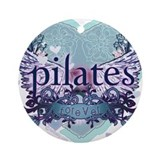 Pilates Round Ornaments
