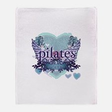 Pilates Forever by Svelte.biz Throw Blanket