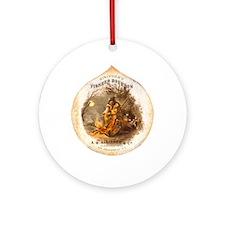 Funny Bourbon Ornament (Round)