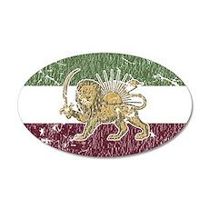 Persian Pride 20x12 Oval Wall Peel