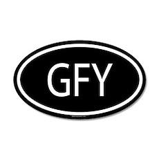 GFY 20x12 Oval Wall Peel