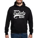 World's Coolest Aunt Hoodie (dark)