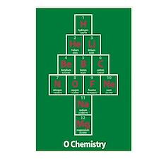 O Chemistry Christmas Postcards (8pk)