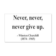 Winston Churchill 3 20x12 Wall Peel