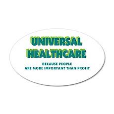 Universal HealthCare 20x12 Oval Wall Peel