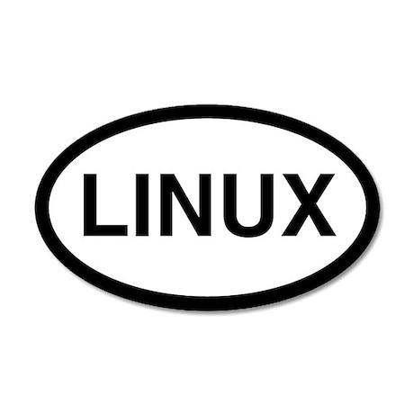 Linux 20x12 Oval Wall Peel