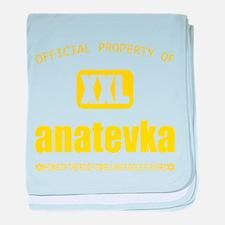 Property of Anatevka baby blanket
