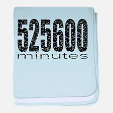 525600 Minutes baby blanket