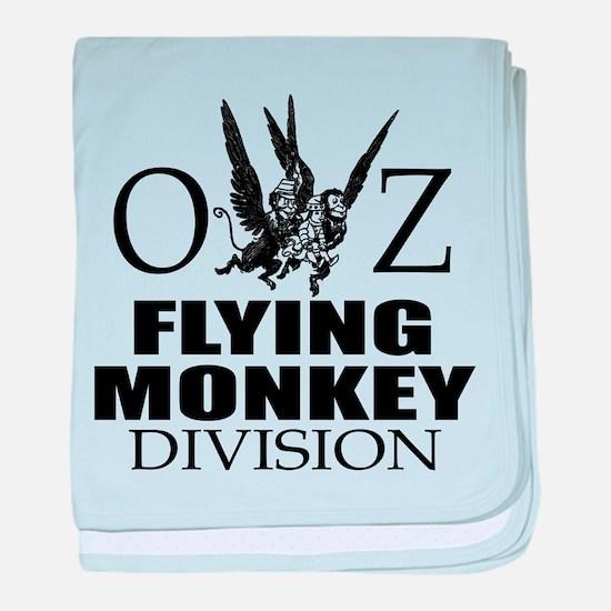 OZ Flying Monkey Division baby blanket