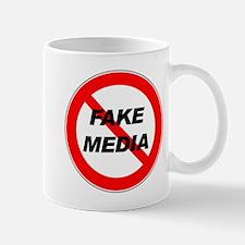 No More Fake Media Mug