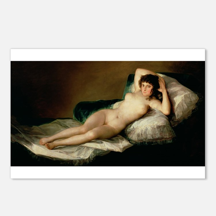 Cute Nude girl Postcards (Package of 8)